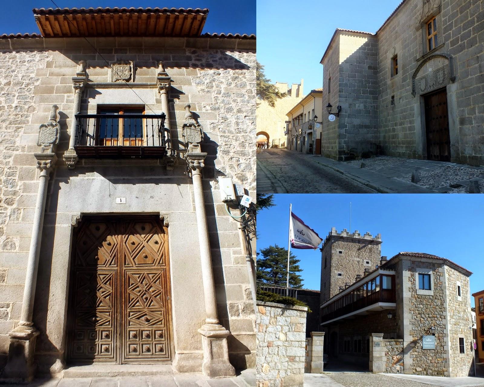 Caserones y palacios de Ávila