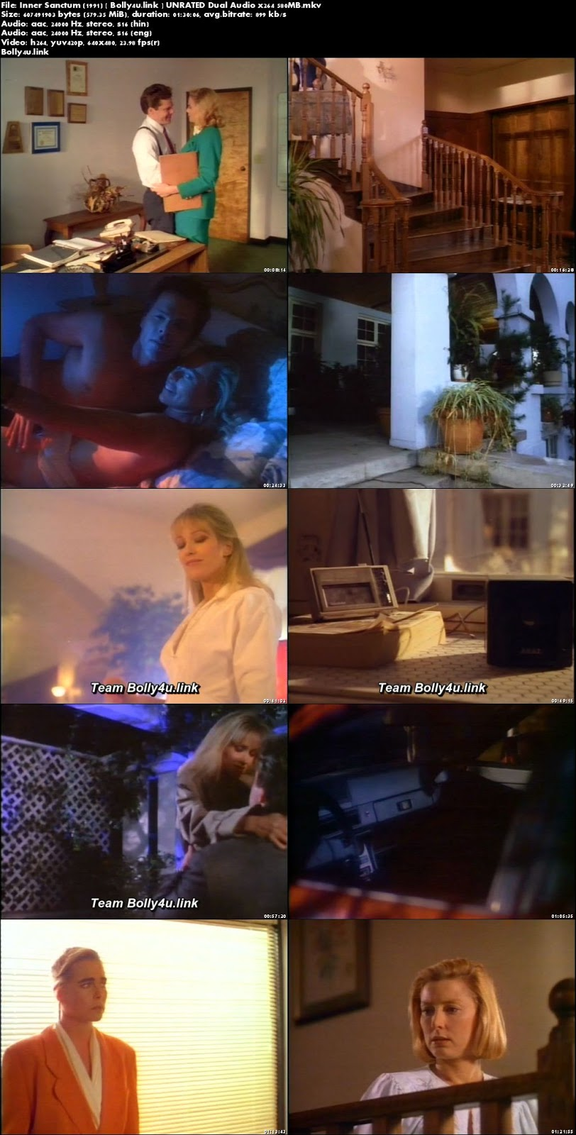[18+] Inner Sanctum 1991 DVDRip 550MB UNRATED Hindi Dual Audio x264 Download