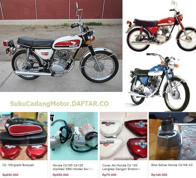 Daftar Harga Spare Part Honda CB 100