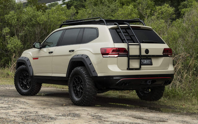 VW Atlas Tanner Foust