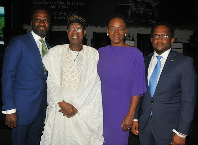 FG commends Heritage Bank Commitment To Entertainment Industry