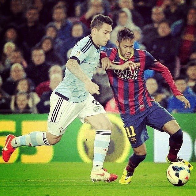 FC Barcelona Vs Celta Vigo 2014