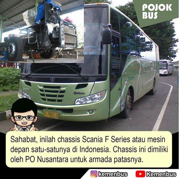 Scania F Series dengan mesin di depan