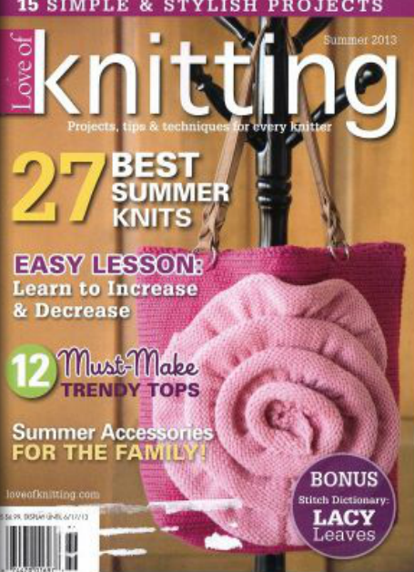 Revista Knitting Verano 2013