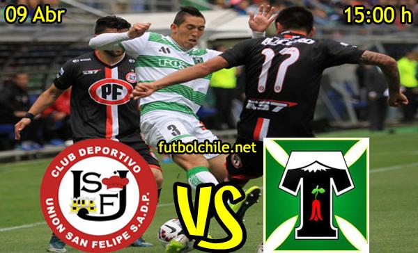 VER STREAM RESULTADO EN VIVO, ONLINE: San Felipe vs Deportes Temuco