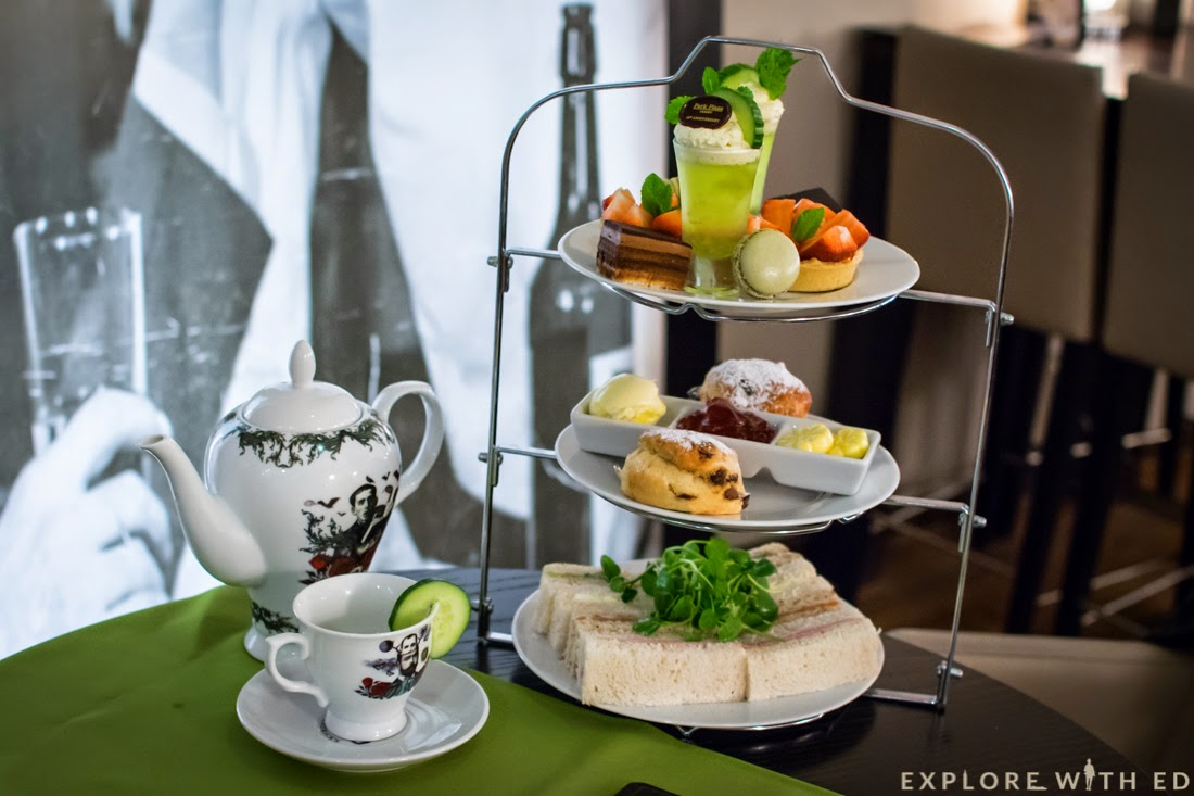 Hendricks Afternoon Tea, Tea Pot, Park Plaza Cardiff