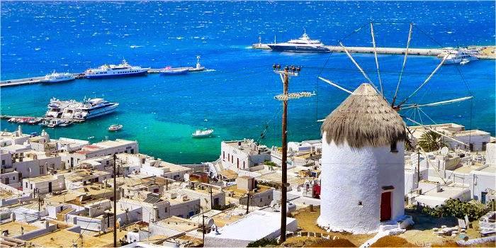 Come raggiungere Mykonos dall'Italia