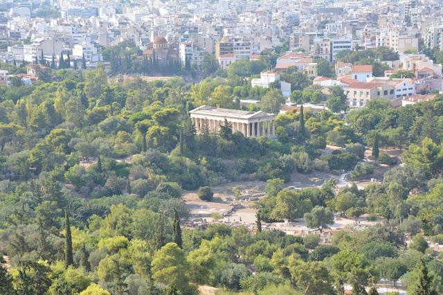 Akropolis'ten Atina