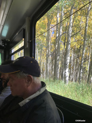 bus to Maroon Bells