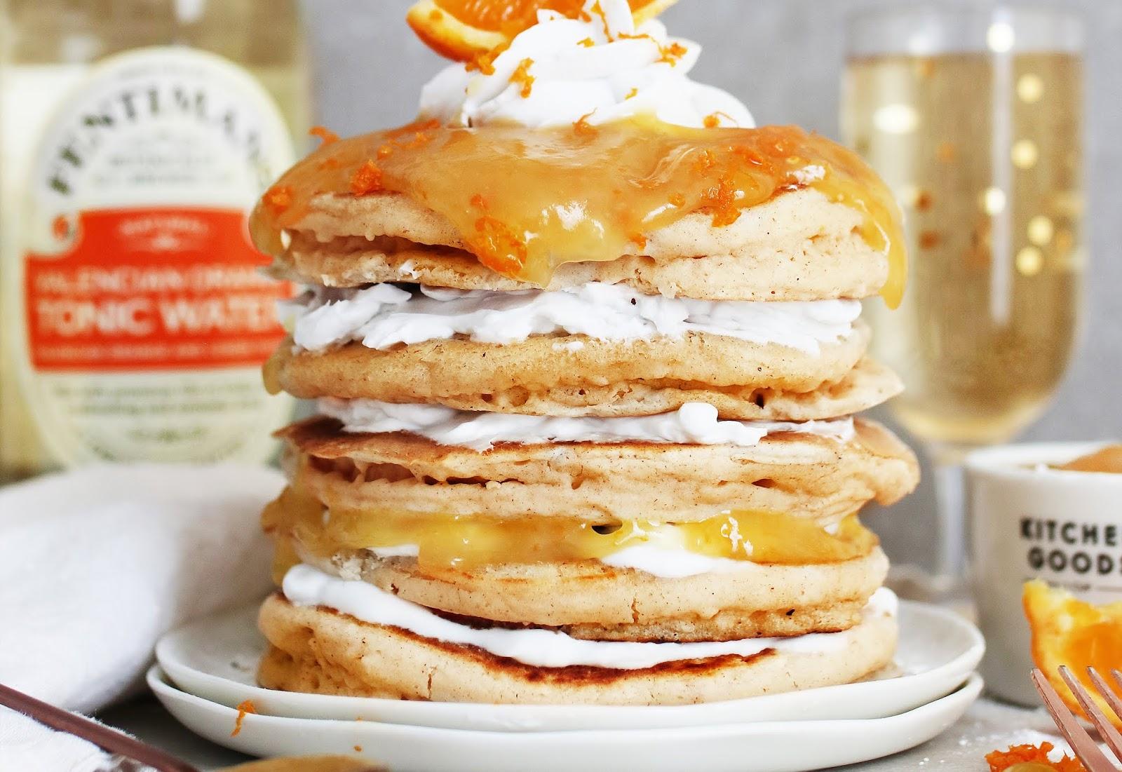 Easy Gin & Tonic pancakes recipe | Ft Fentimans