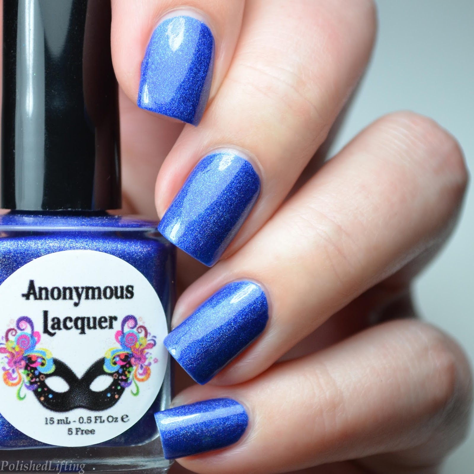 Polished Lifting: Shark Attack Nail Art featuring Anonymous Lacquer ...