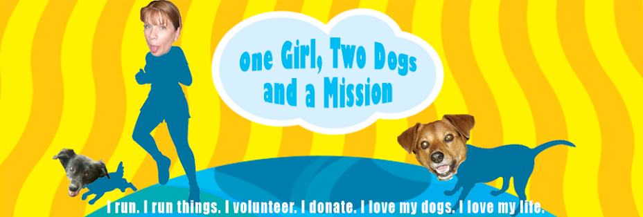 One Girl, Two Dogs and a Mission