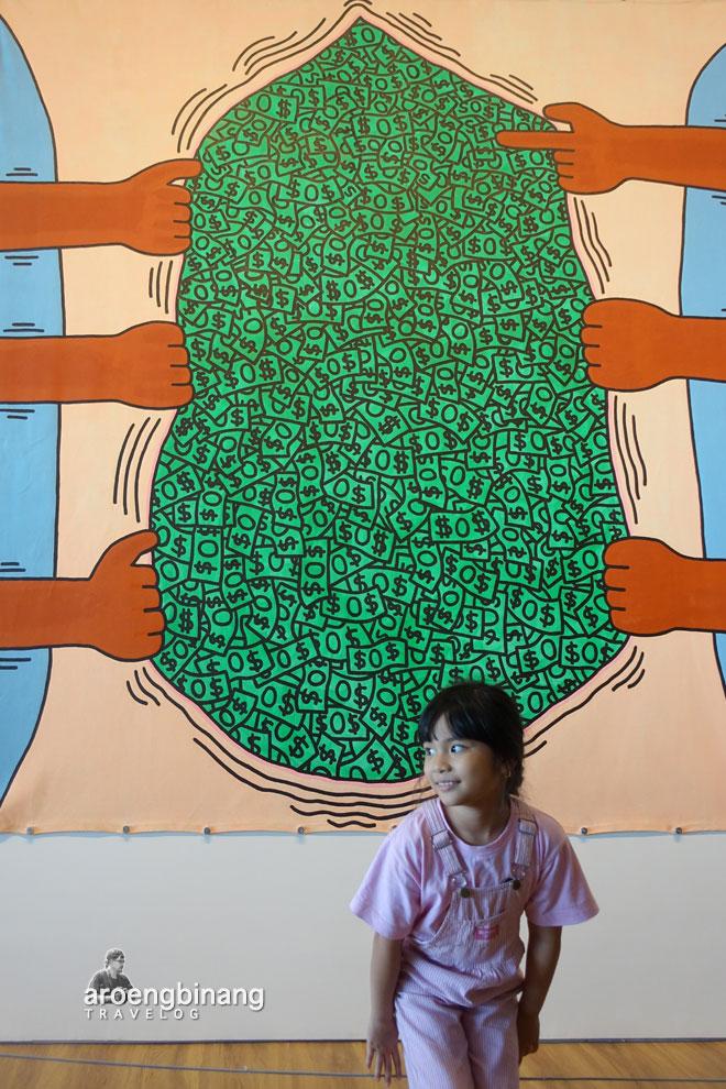 keith haring museum macan modern and contemporary art in nusantara jakarta barat
