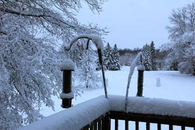 April 19, 2013 snowfall