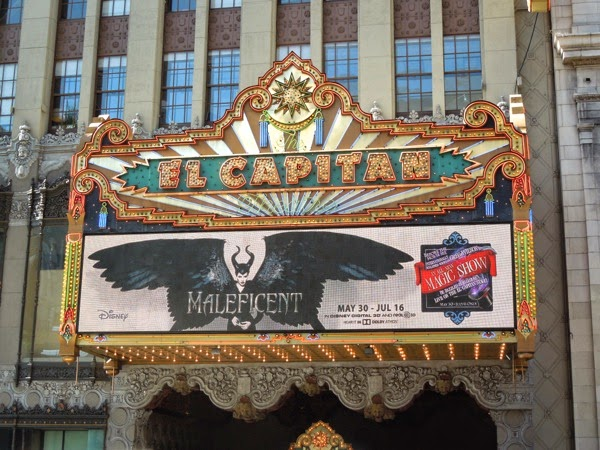 Maleficent exhibit El Capitan Theatre Hollywood