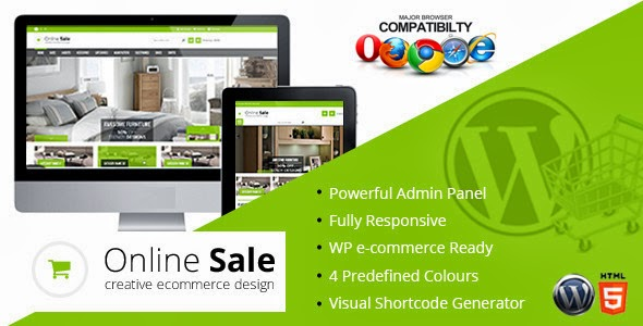 WP eCommerce template free