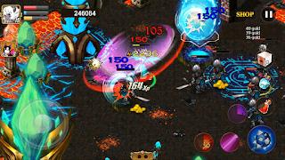 Game Demon Heart Pylon Wars v1.0.7 Mod Money And Unlock All