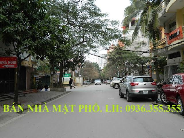 Bán nhà mặt phố Võ Văn Dũng, Hoàng Cầu
