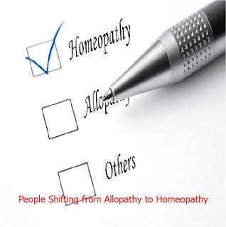 People Shifting from Allopathy to Homeopathy