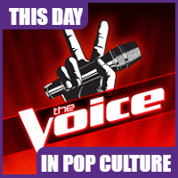 """The Voice"" premiered on NBC on April 26, 2011."