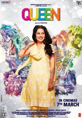 2014 Bollywood movie Queen Poster