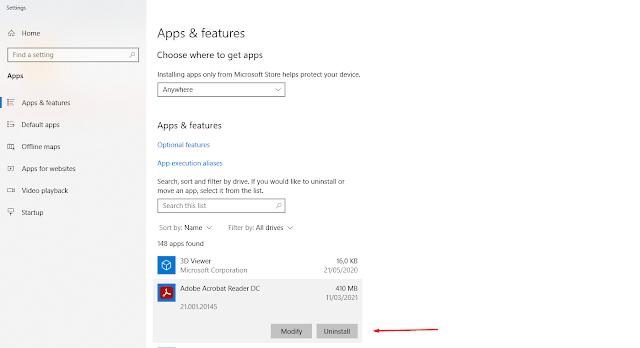 5 Cara Efektif Uninstall (Hapus) Aplikasi di Windows 10