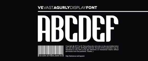 http://www.dafont.com/ve-vastagurly-display.font