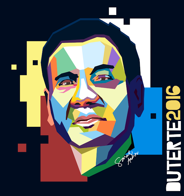 Duterte artwork wpap art