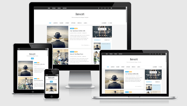 Invert Blogger Templates