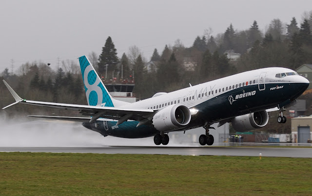 Boeing 737 MAX first flight
