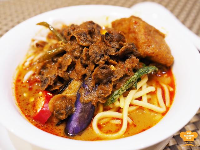 Curry Noodles - Mi Kari Kerang  Kuala Lumpur Ramadhan Buffet 2018 WP Hotel