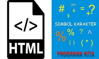 Kode Karakter dan Simbol HTML