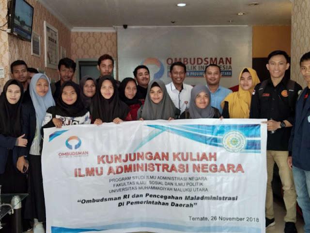 Sofyan Ali Terima Kunjungan Kuliah Mahasiswa Universitas Muhammadiyah Maluku Utara