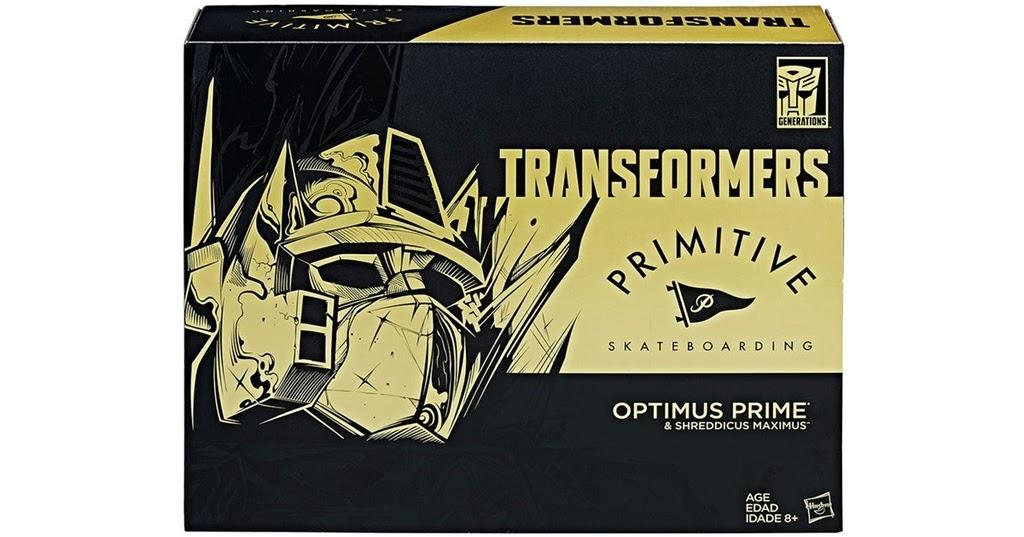 San Diego comic-con 2017 HASBRO Exclusive Transformers Primitive Skateboard Optimus-Last 2