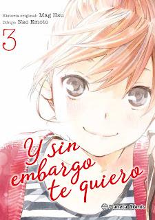 """Manga: Reseña de """"Y sin embargo te quiero #3"""" de Mag Hsu y Nao Emoto - Planeta Cómic"""