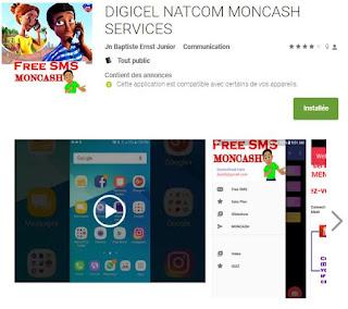 Envoyez des SMS gratuit sur le reseau DIGICEL Haiti