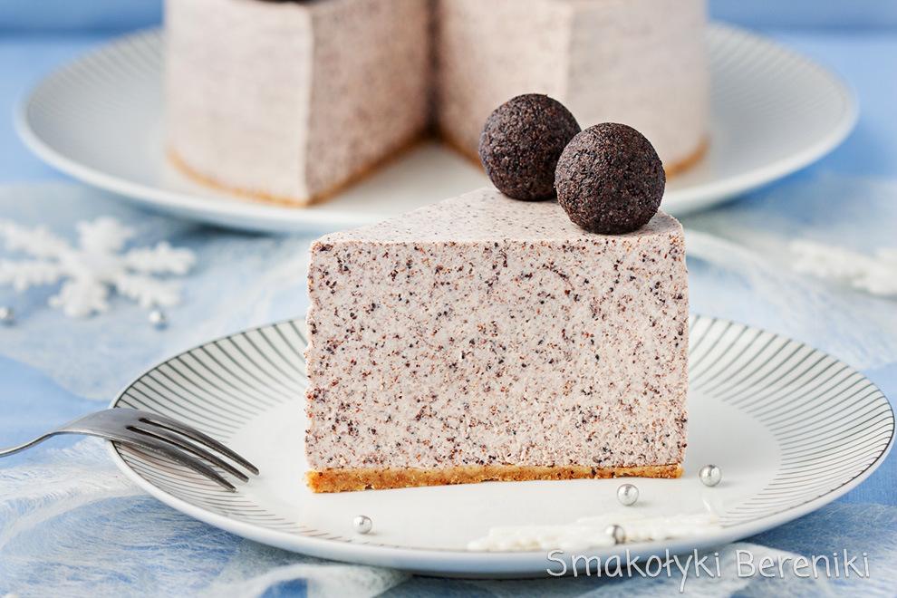 Sernik makowy bez użycia piekarnika