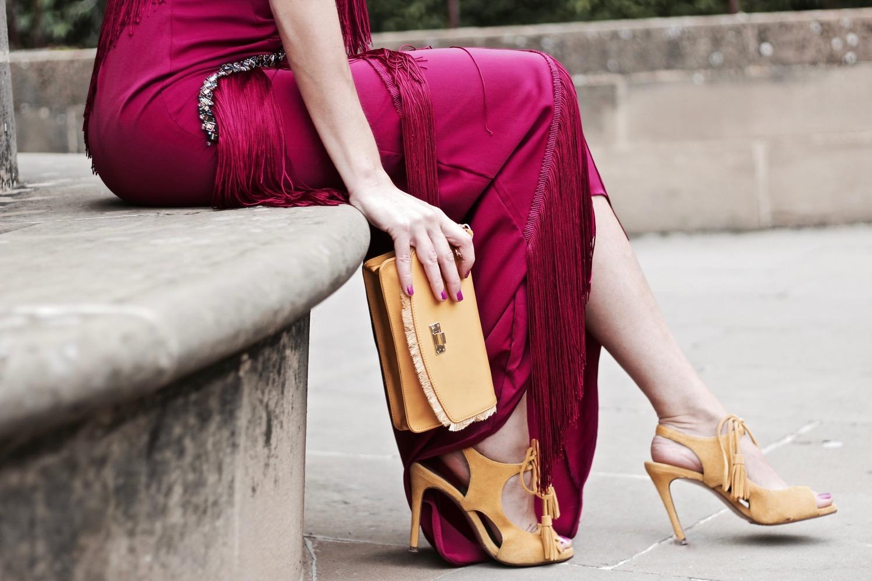 calzado y bolso de fiesta