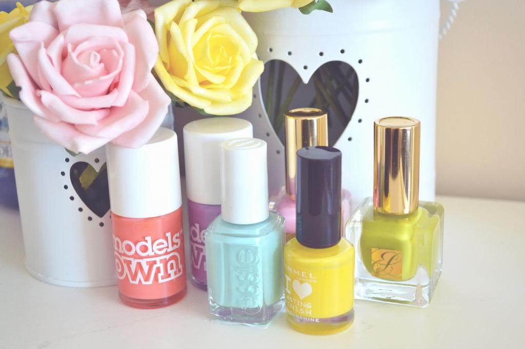 pastel nail polish for spring