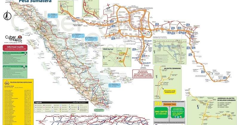 Peta Jalur Mudik Jakarta Padang Tahun 2014 | Agung Car