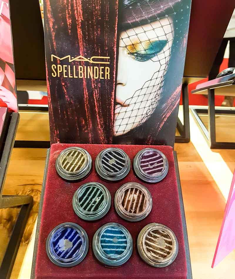 MAC Spellbinder Eyeshadows - Swatches