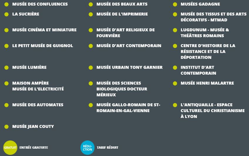 musée lyon city card
