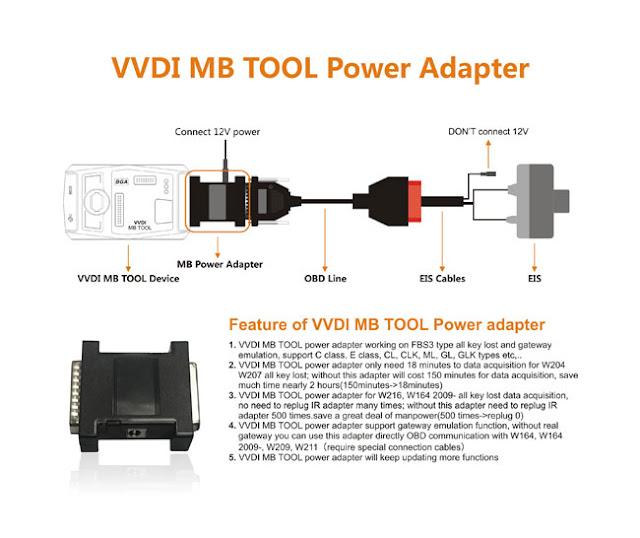 vvdi-mb-tool-power-adapter
