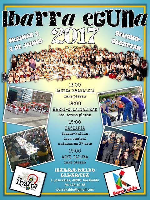 Cartel del Ibarra Eguna 2017