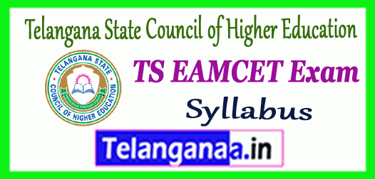 TS EAMCET Telangana State Council of Higher Education Syllabus 2019 Admit Card