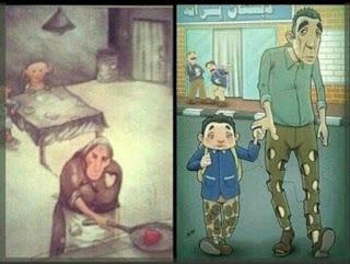 kehidupan orang miskin