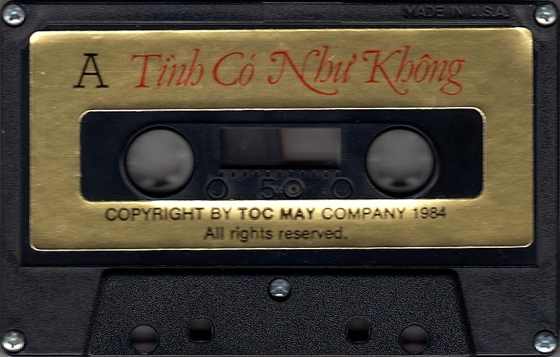 Tape Tóc Mây - Tình Có Như Không (WAV)