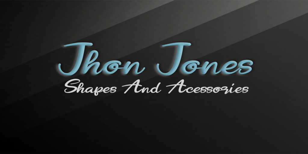 [JhonJones] Shapes and Acessories