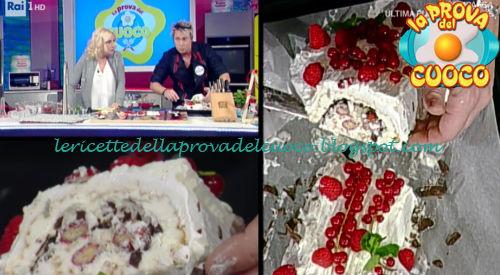 Tronchetto Di Natale Video Ricetta.Tronchetto Di Natale Ricetta Andrea Mainardi Da Prova Del Cuoco