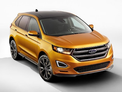 See Now All New 2016 Ford Edge HD Photos Collection